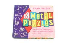 18 Metal Puzzles by Chad Valley