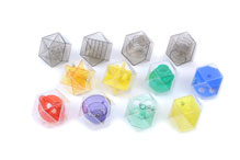 Set of 12 Cubocahedron Dexterity Puzzles by Dodo Designs