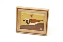 Small Frame with Bird (P-28-1) by Akio Kamei