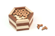 Edelweiss Puzzle Box No. 28 by Robert Yarger and William Waite