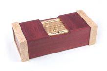 Ultimate Cryptex Puzzle Box by Randal Gatewood/Quagmire